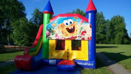 FB IMG 1583782705137 - Piepūšamā atrakcija Sponge Bob
